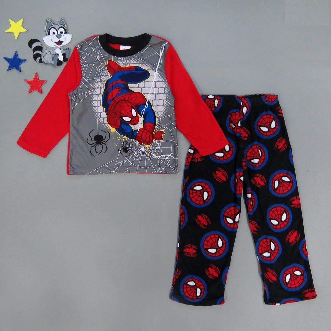 Флисовая пижама Spiderman для мальчика.