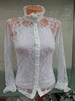 Нарядная блузка с маечкой для девочки подростка Benini