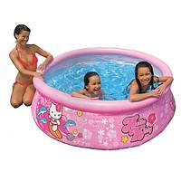 Надувной бассейн Intex Easy Set Pool Hello Kitty/Хелло Китти: 183x51см (Intex 28104)