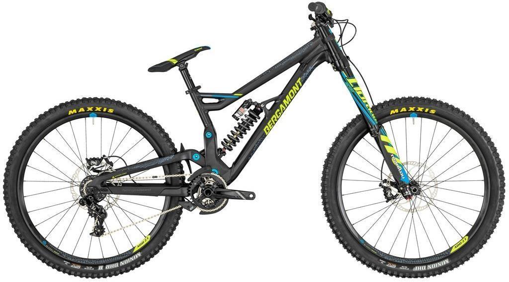 """Велосипед Bergamont 19' 27,5"""" Straitline Ultra (270756-008), черный / синий / желтый L"""