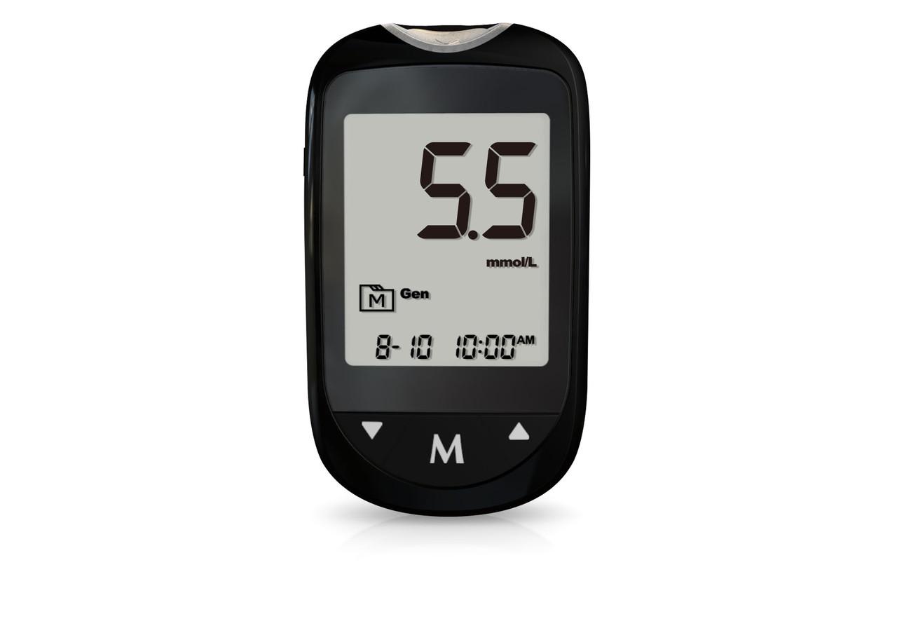 Глюкометр TD-4183. Система контролю рівня глюкози та β-кетонів у крові