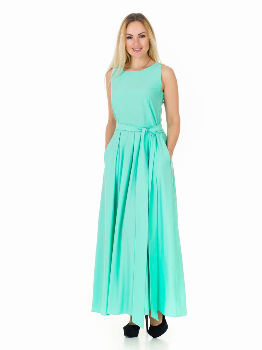 Женское летнее длинное платье РМ10503