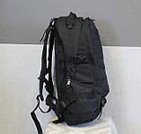 Тактический (городской, штурмовой) рюкзак Oxford 600D с системой M.O.L.L.E на 25-35 литров (ta30-black), фото 3
