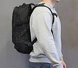 Тактический (городской, штурмовой) рюкзак Oxford 600D с системой M.O.L.L.E на 25-35 литров (ta30-black), фото 7
