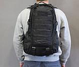 Тактический (городской, штурмовой) рюкзак Oxford 600D с системой M.O.L.L.E на 25-35 литров (ta30-black), фото 8