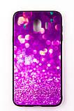 "Чохол-панель FINE LINE (Back Cover) ""Glam"" для Samsung Galaxy J4 2018 (J400), фіолетовий калейдоскоп, фото 2"