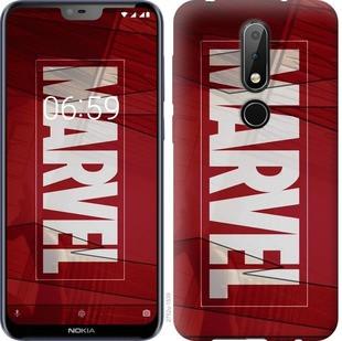 "Чехол на Nokia 6.1 Plus Marvel ""2752u-1539-19380"""