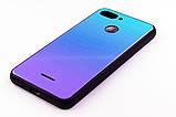 "Чохол-панель FINE LINE (Back Cover) ""Mirror"" для Xiaomi Redmi 6,(Lighting Blue), фото 2"