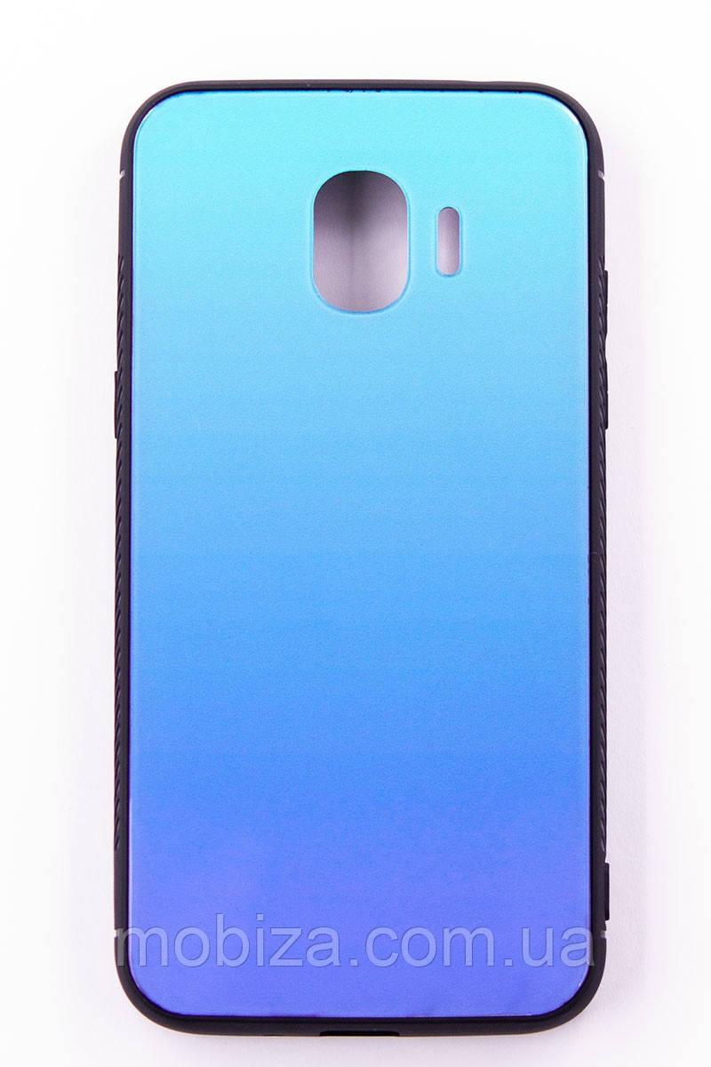 Чохол-панель FINE LINE Mirror для Samsung Galaxy J2 2018 (J250) Lighting Blue