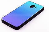 Чохол-панель FINE LINE Mirror для Samsung Galaxy J2 2018 (J250) Lighting Blue, фото 2