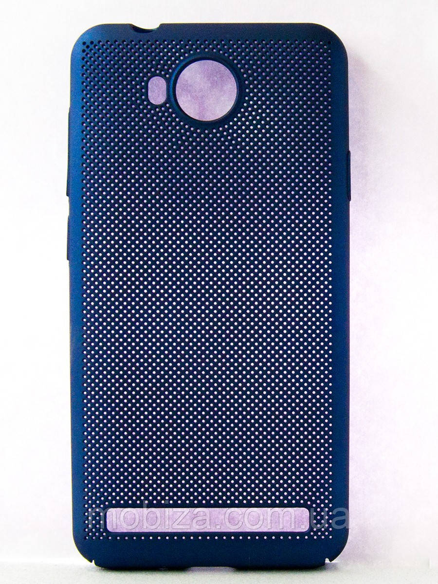 "Чохол-панель FINE LINE (BACK COVER) ""Сітка"" для Huawei Y3 II (blue)"