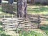 Плетеный(плетень) забор из лозы - Верболоз