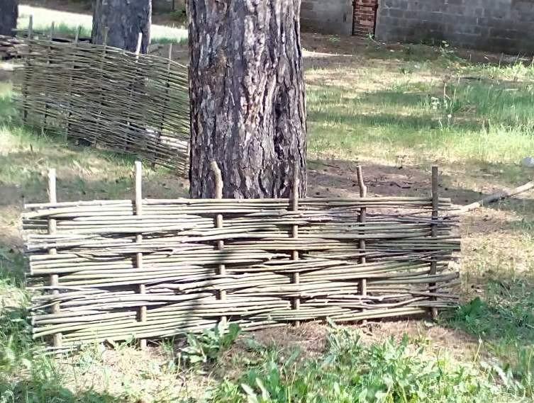6e9d7353a1ebb5 Плетеный(плетень) забор из лозы - Верболоз , цена 140 грн./кв.м ...
