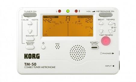 Тюнер-метроном KORG TM 50 TM 50 PW
