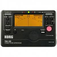 Тюнер-метроном KORG TM-50C TM 50C BK