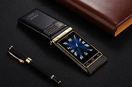 Мобильный телефон Tkexun G10 Flip Black 2500 мАч