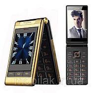 Мобильный телефон Tkexun G10 Flip Gold 2500 мАч, фото 2