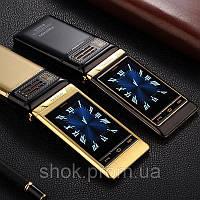 Мобильный телефон Tkexun G10 Flip Gold 2500 мАч, фото 4