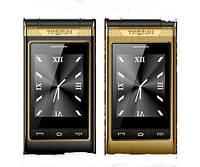 Мобильный телефон Tkexun G10 Flip Gold 2500 мАч, фото 6