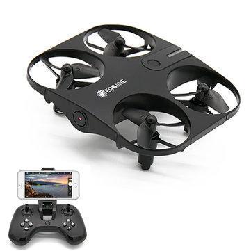 Квадрокоптер дрон Eachine Windmill E014 Black камера 720P WiFi автоматика,зависание в точке,управление жестами