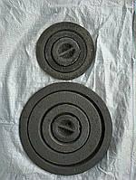 """Конфорки чугунные набор """"Искра"""" печной плиты Ø 260мм (вес - 5 кг)"""