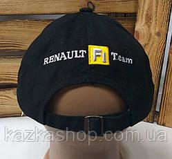 Стильная мужская котоновая кепка, бейсболка, вышивка логотипа Renault, светоотражающий эффект,  размер 58, фото 3