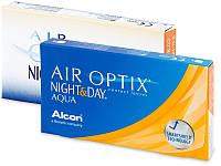Линзы 195  ежемесячной  замены    Air Optix Night & Day Aqua