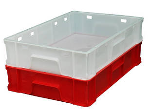 Ящики пластиковые сплошные