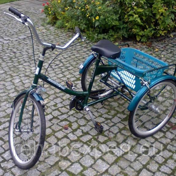 Трехколесный Велосипед EuroTeam Special Reha Bike для людей с отсутствием равновесия