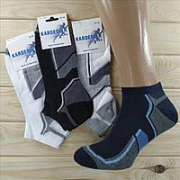 Турецкие носки с сеткой мужские короткие Kardesler Sport Colllection хлопок 40-46р  НМД-0510206