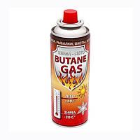 Газовый баллон 220 грам (цанговый) все сезонный. Газовый картридж. Газ VITA GB-0002