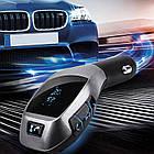 Автомобильный FMтрансмиттер модулятор BluetoothHZ H20BT c пультом, фото 3