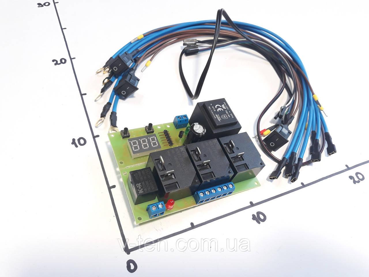 Цифровой высокоточный двухпороговый терморегулятор для блоков ТЭНов