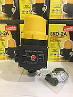 Автоматика для насосов пресс - контроль c защитой от сухого хода Euroaqua SKD 2A
