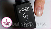 Kodi Rubber No Sticky Top Coat топ коди без липкого слоя  + Kodi Rubber Base Gel 8 мл база коди, фото 5