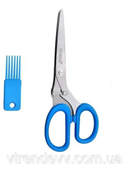 Ножницы на кухню для салата Family Kitchen 5 лезвий