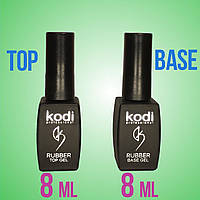 Kodi Rubber Top Gel + Kodi Rubber Base Gel 8 мл.