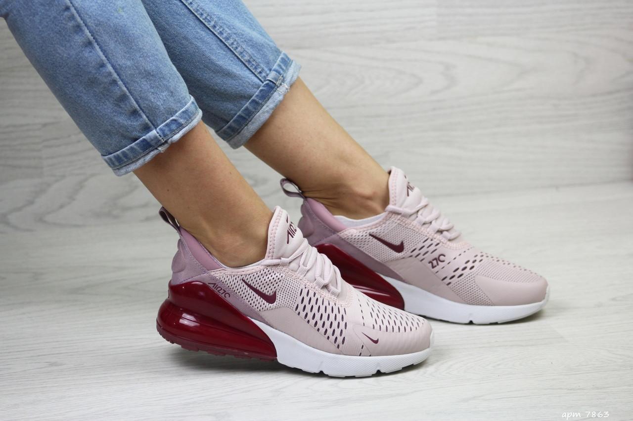 Женские кроссовки Nike Air Max 270 (пудра)