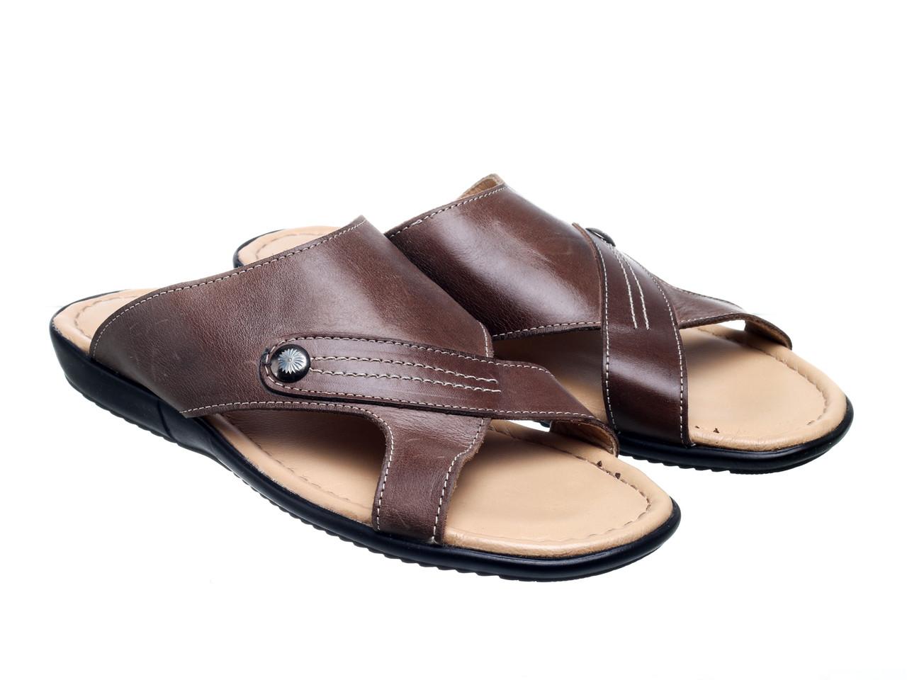 Шлепанцы Bertan 715-13203-112 коричневые