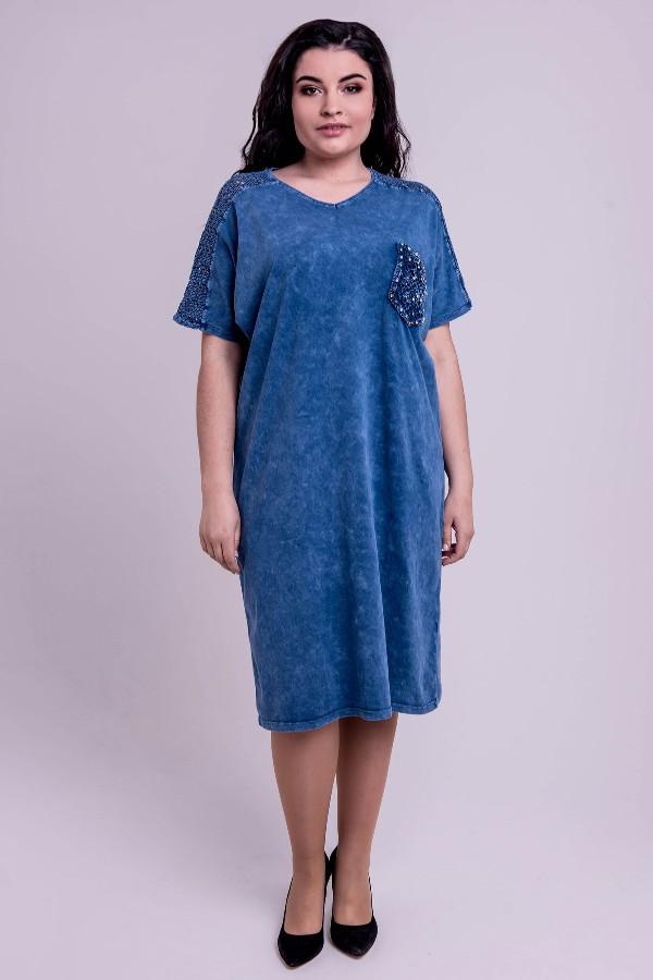 Платье Дина (бирюза)