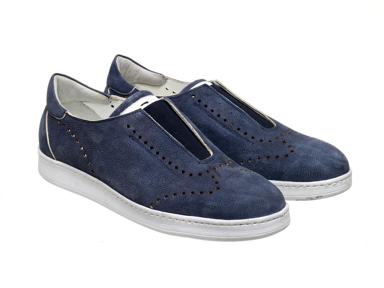Слипоны Etor 8697-754 синие