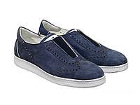 Слипоны Etor 8697-754 синие, фото 1