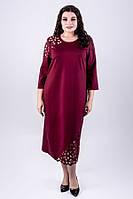 Платье Дорис (бордовый), фото 1