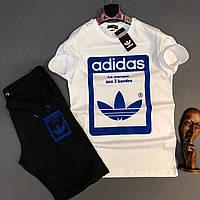 Мужской комплект шорты и футболка Adidas Accuracy, фото 1