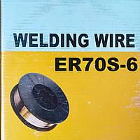 Проволка сварочная ER70S-6 0.8 мм, 2.5 кг