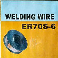 Проволка сварочная ER70S-6 0.8 мм, 4.3 кг