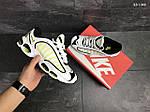 Мужские кроссовки Nike Air Max (бело-желтые), фото 5