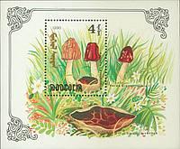 Монголія 1992 - гриби - блок - MNH XF