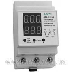 Реле защиты Adecs ADC-0111-40 40А однофазное