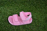 Детские пляжные босоножки сандалии пена розовые р24-29, фото 1